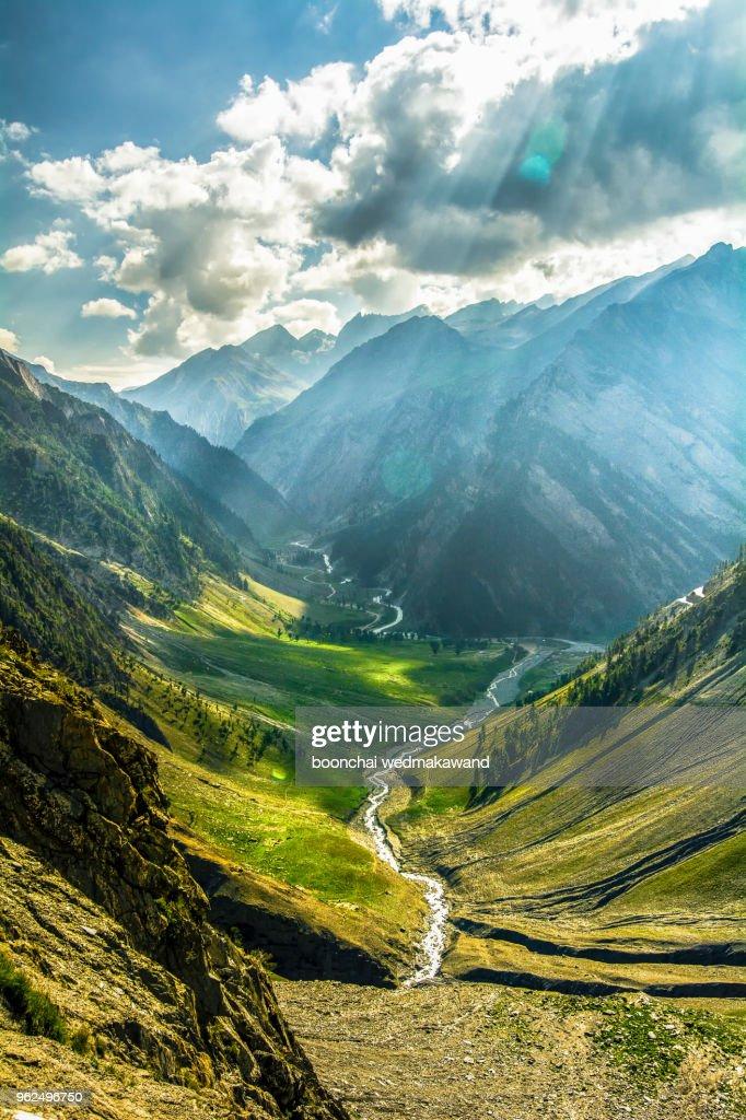 Landscape of Leh, Ladakh, North of India : Stock Photo