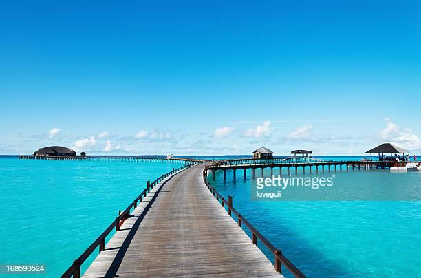 Paisagem de maldive
