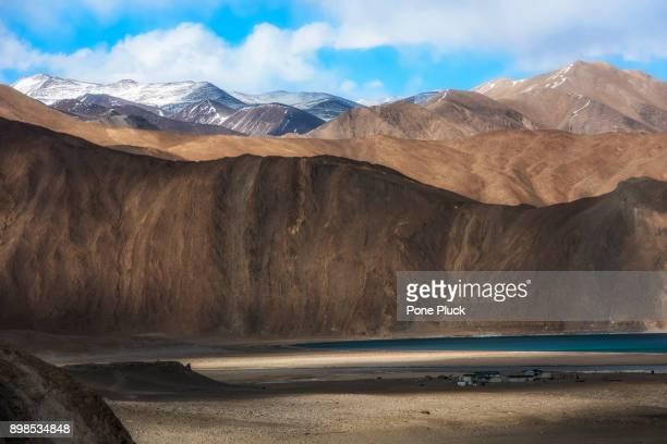 Landscape of mountain at Leh, Ladakh, North of India