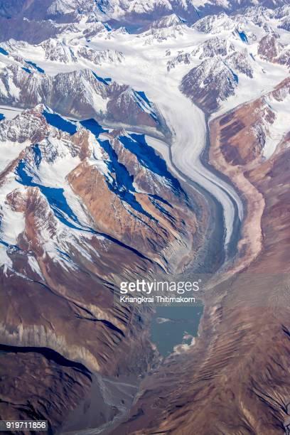 Landscape of mountain nearby Ladakh region, India.