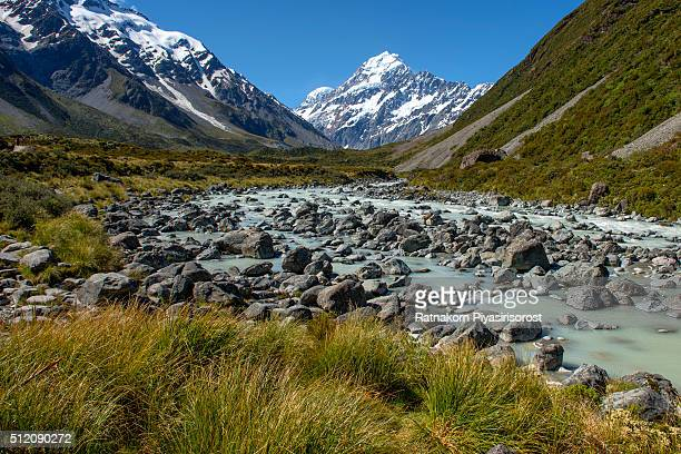 Landscape of mt. Cook, Newzealand