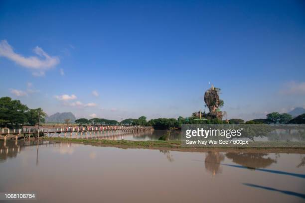 Landscape of Myanmar, South Asia