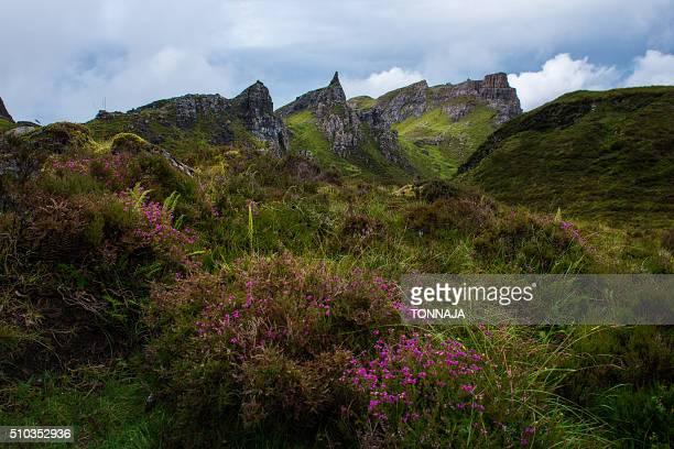 Landscape of Quiraing's trekking route, Isle of Skye