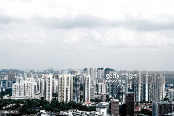Landscape of Singapore.
