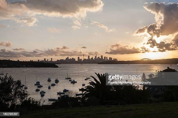 Landscape of Sydney Harbour