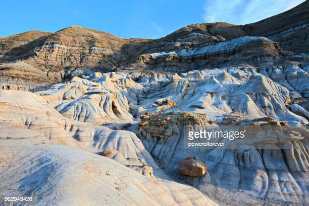 HDR Landscape of the Canadian Badlands, Alberta, Canada