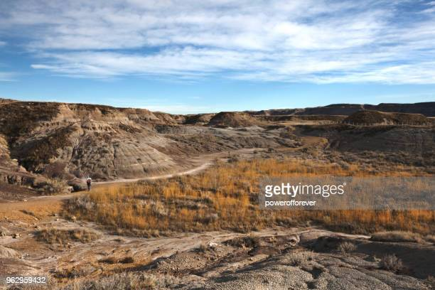 HDR Landscape of the Canadian Badlands, Alberta, Canada