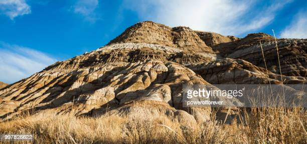 Landscape of the Canadian Badlands, Alberta, Canada