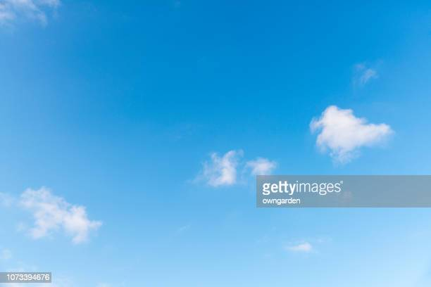 landscape of the clear sky - heldere lucht stockfoto's en -beelden