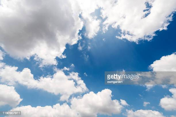 landscape of the clear sky - moody sky stock pictures, royalty-free photos & images