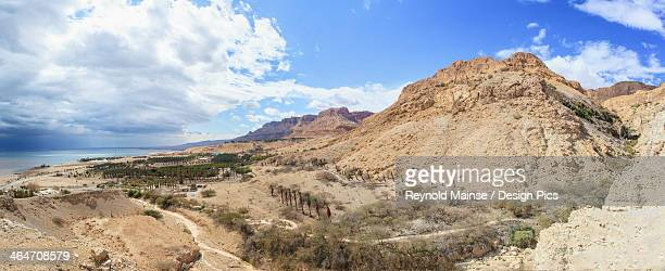Landscape Of The Jordan Valley And The Dead Sea