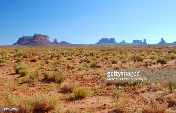 Landscape of the Monument Valley