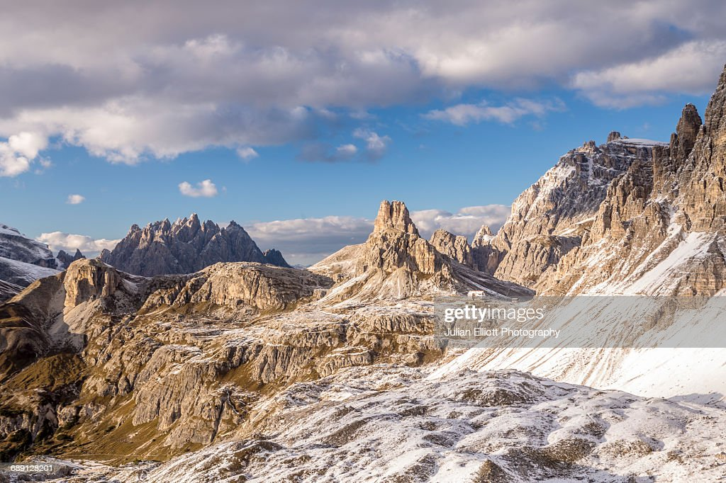 Landscape of the Parco Naturale Tre Cime, Italy. : Stock Photo