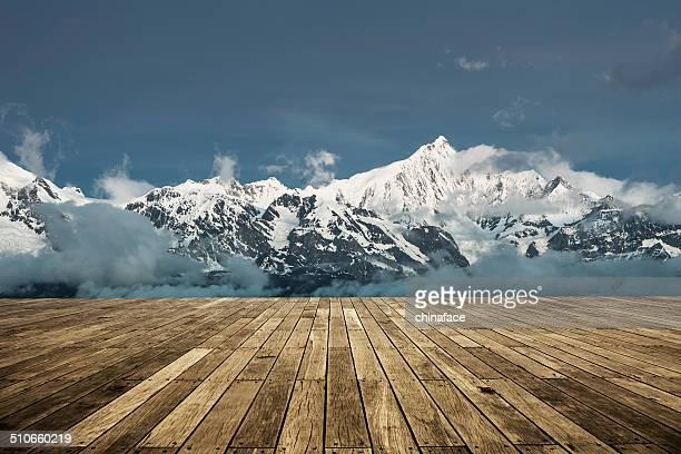 Landschaft Tibets
