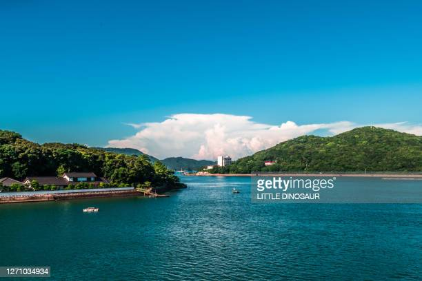 landscape of toba bay - mie prefecture stock pictures, royalty-free photos & images