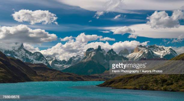 Landscape of Torres del Paine National park, Magallanes y de la Antarctica Chilena, Chile
