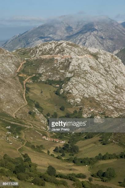 Landscape of Tresviso Picos de Europa Cantabria