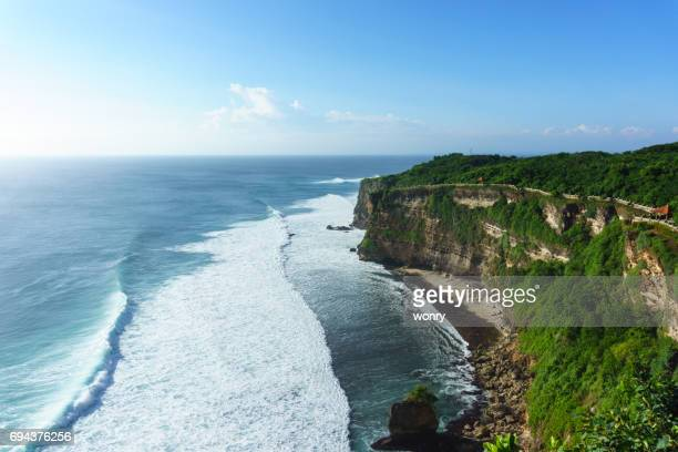Landscape of Uluwatu in Bali