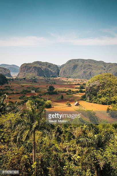Landscape of Vinales Valley in Cuba