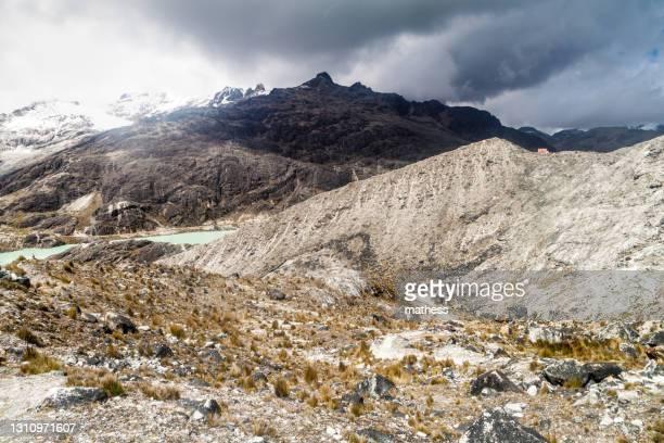 landscape zongo pass bolivia