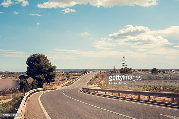 Landscape on the road