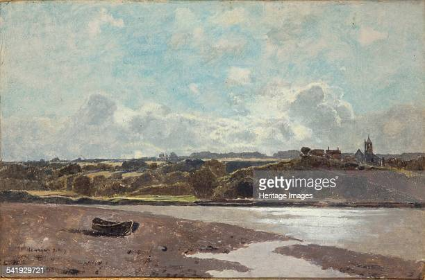 Landscape opposite Newnham on Severn', 1880. Artist: Karl Heffner