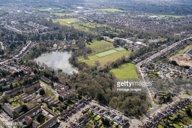 Landscape park at Canons Park, Harrow, London, 2018. Artist Historic England Staff Photographer.