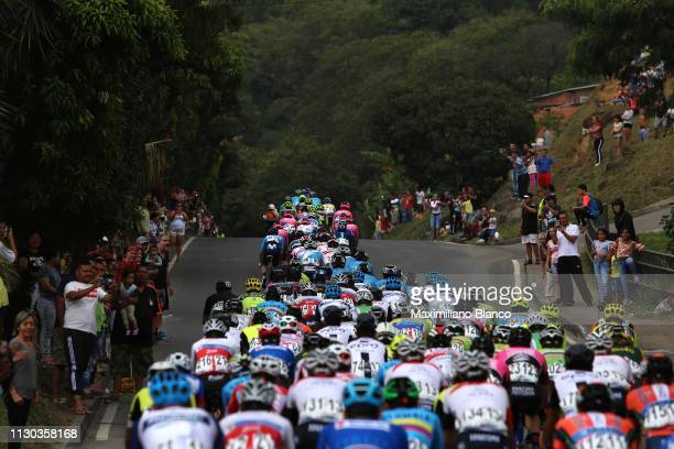 Landscape / Peloton / Fans / Public / Medellin City / during the 2nd Tour of Colombia 2019 Stage 6 a 1738km stage from El Retiro to Alto Las Palmas...