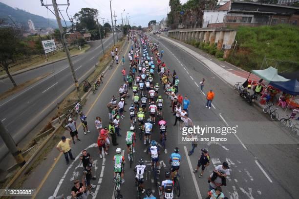 Landscape / Peloton / Fans / Public / Medellín City / during the 2nd Tour of Colombia 2019, Stage 6 a 173,8km stage from El Retiro to Alto Las Palmas...