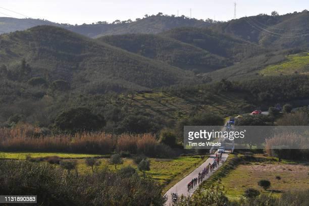 Landscape / Peloton / Mountains / during the 45th Volta ao Algarve, Stage 5 a 173,5km stage from Faro to Alto Do Malhão 518m - Loulé / VA /...