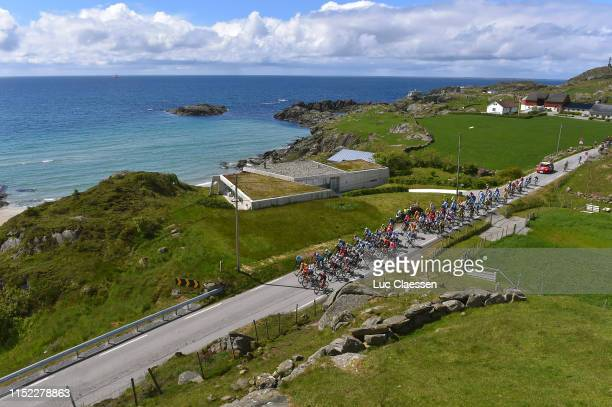 Landscape / Peloton / Sea / Beach / during the 9th Tour of Norway 2019 Stage 1 a 1682km stage from Stavanger to Egersund / @tourofnorway /...