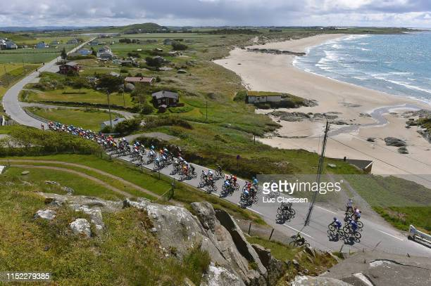 Landscape / Peloton / Sea / Beach / during the 9th Tour of Norway 2019, Stage 1 a 168,2km stage from Stavanger to Egersund / @tourofnorway /...