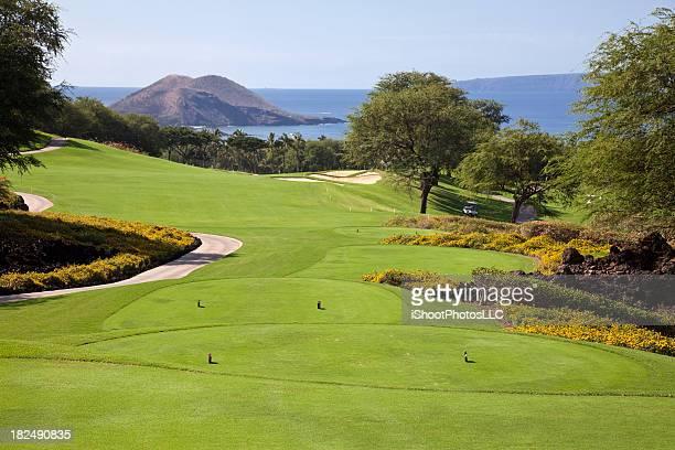 Landscape photo of a golf course