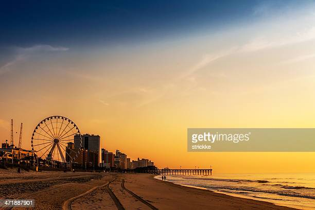 landscape photo romantic sunrisesunset at beach resort - template_talk:south_carolina stock pictures, royalty-free photos & images