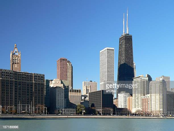 Landscape photograph of the skyline of Chicago