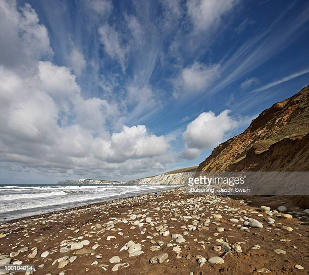 landscape photography on the isle of wight - berkshire england stock pictures, royalty-free photos & images