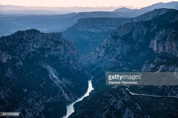 landscape - gorges du verdon photos et images de collection