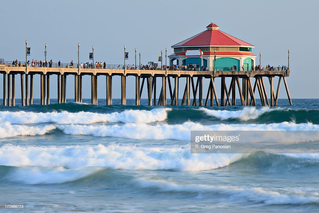 huntington beach california stock photos and pictures getty images