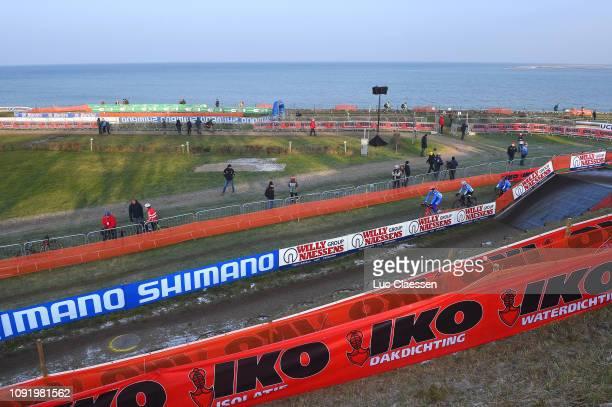 Landscape / Rainbow World Champion Jersey / Circuit / Sea / during the 70th Cyclo-cross World Championships Bogense 2019 - Training / Cross Denmark /...