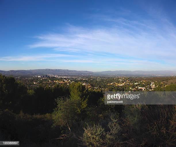 Landscape San Fernando Valley of Los Angeles, California