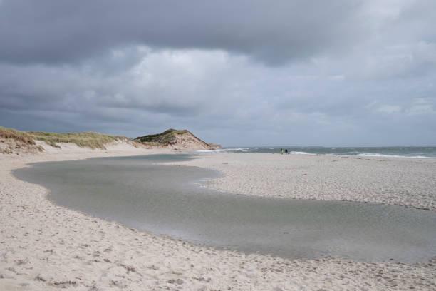 Landscape scenery of island Sylt