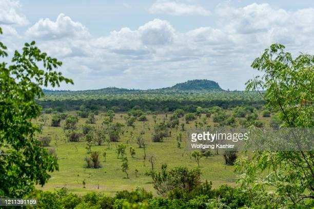 Landscape Shai Game Reserve near Accra, Ghana.