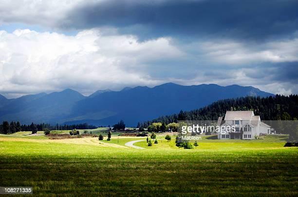 big sky, montana - montana - fotografias e filmes do acervo
