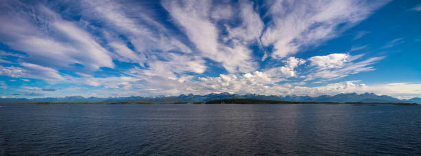 Landscape To Midfjorden, Sekken And Seteroya Islands At Molde, Norway