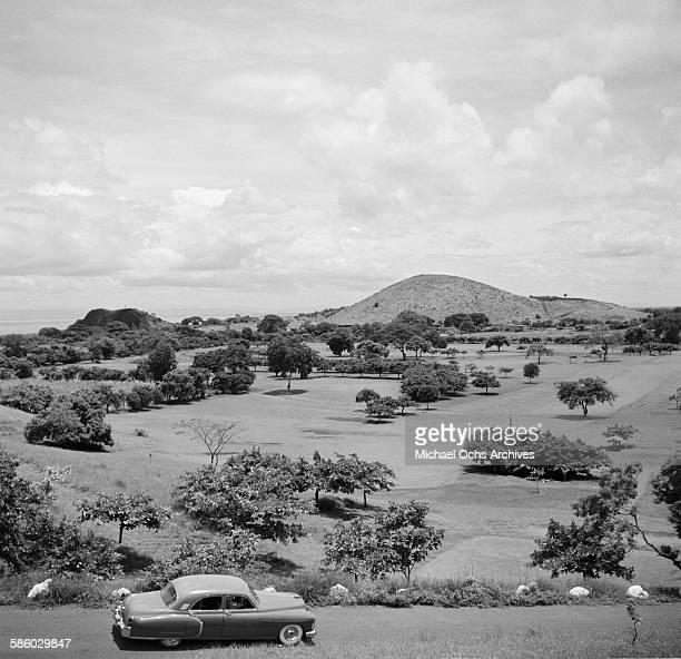 A landscape view in Managua Nicaragua