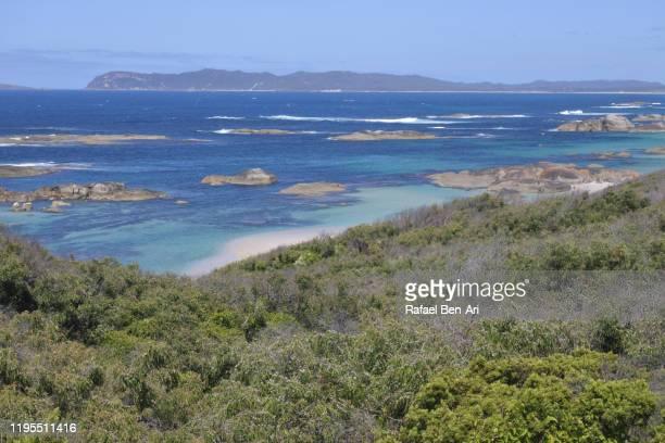 landscape view of greens pool in south western australia - rafael ben ari stock-fotos und bilder
