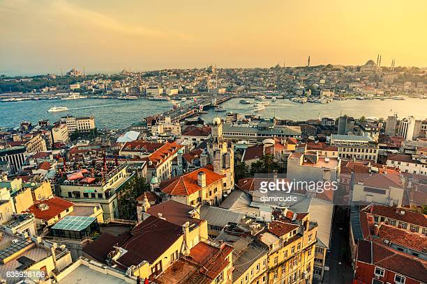 Landscape view of Istanbul, Turkey