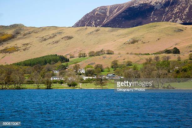 Landscape view of Lake Buttermere Cumbria England UK