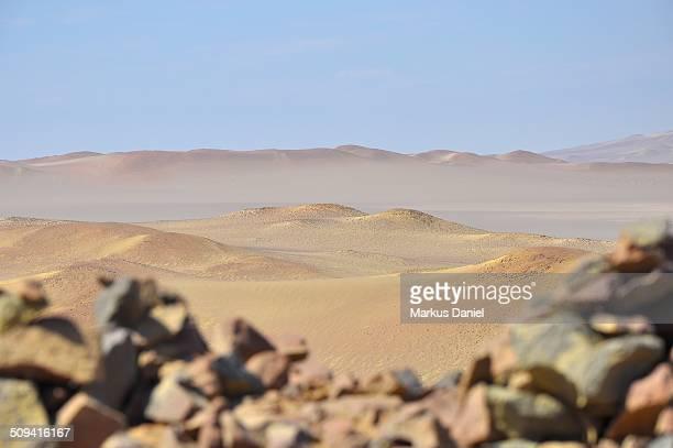 Landscape view of Paracas Desert, Peru