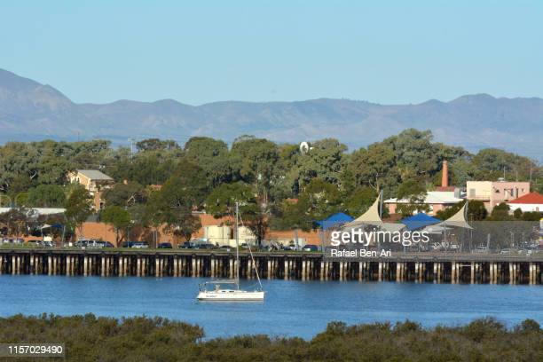 landscape view of port augusta south australia - rafael ben ari stock pictures, royalty-free photos & images
